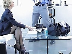 Manager licking very hot mature cunt Julia Ann