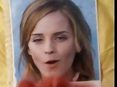 Emma Watson Cum on her Lovely Face