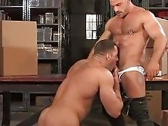 Erik Rhodes and Samuel Colt Big Muscle Dilfs