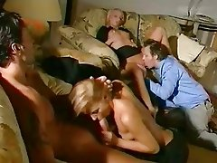 Hotties Angie Scott and Mia Stone having a wild oral groupsex