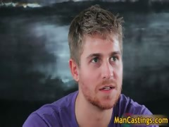 Pretty face gay stud Logan takes rigid part6