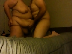 BBW Blow Job & Belly Play