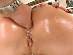 Aletta Ocean gets her tight asshole drilled