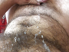 POV - Cumming really good & close up