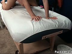 Big massager gives an amazing massage