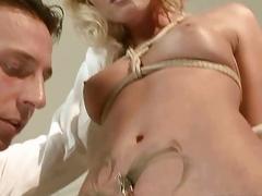 Kathia Nobili gets bondaged and punished