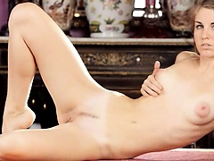 sleek russian masturbation