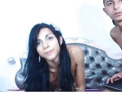 sexy colomboan ts shows ass