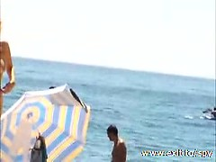 Voyeur video of beautiful Nudist Amateurs