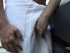Evan meets Antonio for an afternoon naked massage.
