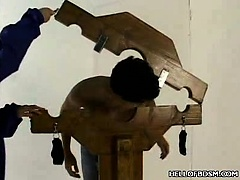 BDSM PIllory Punishment