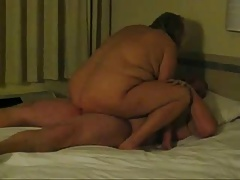 Horny Mature wife riding guy they just met online.