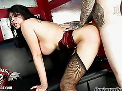 Horny hot Tera Patrick wanted nothing more than a hot jizzpop on her lusty face