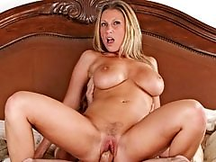 Devon Lee with enormous tits gets pussy pounded