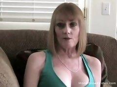 Mature buxomy blond step-mom prays to inhales my phat lollipop