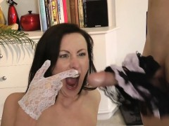 Cock riding british milf