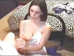 Retro Handjob, good tits