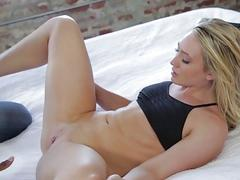 AJ Applegate loves big black cock