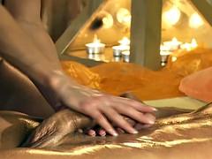Exotic massage practice