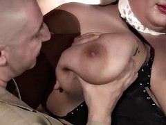 german bbw slut with two guys