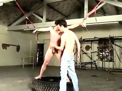 Homo gay sex old bondage first time The flogging catches the