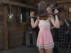 Savage satisfying for sexy lass