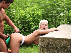 amazing sex with the beautiful blonde nathaly cherie