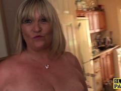 busty mature britt sub  fucked roughly movie