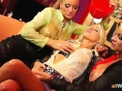 Office Babes Get Messy