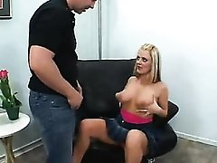 Early Sophie Dee scene with natural tits