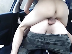 Smooth butt fucked
