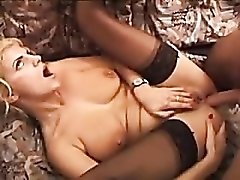 Banging her wet ass with a big cock