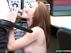 Stunning nubile Jaycee Starr gets caught and penetrated rock hard