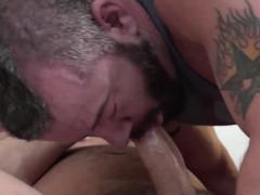 Big cock Tyler Reed and sexy Adam Ryker barebacking hard