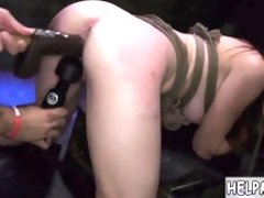 Extreme brutal gangbang anal crying and paddling first