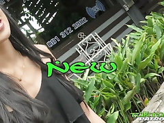 Tatted Thai cutie delivers her excited and shaved pussy to new meat-man on Tuktuk Patrol