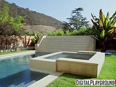 DigitalPlayground - Mia Malkova Xander Corvus - Poolside