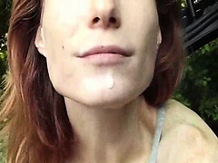 Redhead swallows that are slim