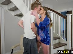 Cathy Heaven mouthful of Danny Ds big cock