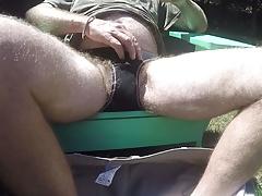 Anybody else use panties as a cum rag?