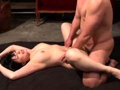 Stunning Japanese wife with big breasts loves to get drilled