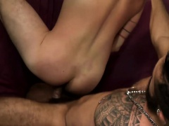 Birthday surprise sex with Cesar Rossi and Mario Cruz A