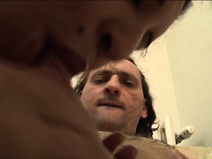 ScambistiMaturi - Fat Italian POV blow job and fucking