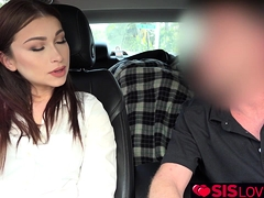 Loving bro feeds Jennifer Jacobs his big juicy cock