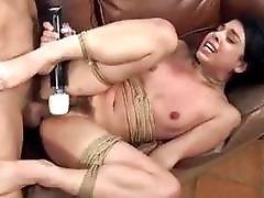 Cunt hunting time as bound bitch gets destroyed BDSM porn