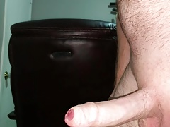 Foreskin and a big cumshot