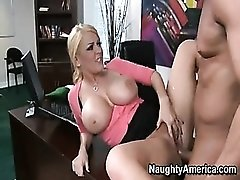 Blonde Fucked in Shaved Pussy