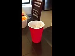 Stiff drink....
