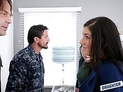 Two army perverts mouth fuck a good looking young babe