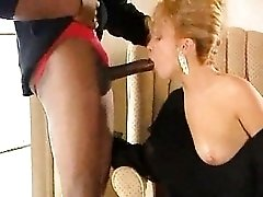 Huge black dick in blonde from classic movie